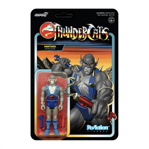 "ReAction 3.75"" Figure seires - Thunder Cats Wave 1 - Panthro - 霹靂貓 3.75吋復古人偶 第一波 - 猛貓"