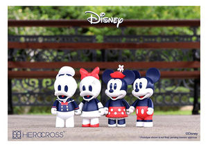 HEROCROSS Chubby Figure Series#005S~008S - Mickey / Minnie / Donald Duck / Daisy (Special Edition) - CFS#005S~008S - 特別版 米奇 / 米妮 / 唐老鴨 / 黛西