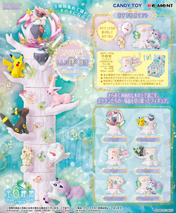 Pokemon Forest series Collection 6 The Shining Place- assortment  - 精靈寶可夢之森 盒玩系列6代 光輝之所篇 - 隨機單抽