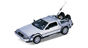 Back to the Future I 1/24 scale Diecast - Time Machine (DeLorean)  - 回到未來 1/24比例模型車 - 時光車