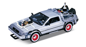 Back to the Future Part 3 1/24 scale Diecast - Time Machine (DeLorean)  - 回到未來3 1/24比例模型車 - 時光車