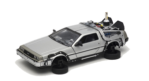 Back to the Future Part 2 1/24 scale Diecast - Time Machine (DeLorean) Flying Wheel ver. - 回到未來2 1/24比例模型車 - 時光車 飛行版