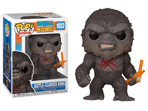 Godzilla vs. Kong POP! vinyl figure - Battle-Scarred Kong - 哥吉拉大戰金剛 POP!人偶 - 戰痕累累 金剛